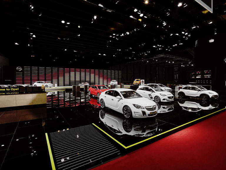 OPEL_Geneve International Motor Show 2016 / BELLPRAT / EXPOTECHNIK